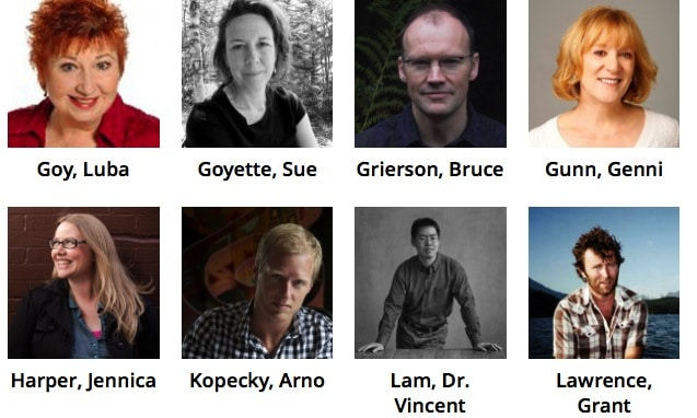 Our 2014 Fest Authors – G to L