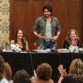 Whistler Writers Festival 2013, ,Jane Silcott, Sue Oakey-Baker, Jian Ghomeshi, Lisa Moore, Genni Gunn, Meg Tilly