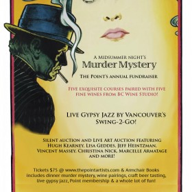 A Midsummer Night's Murder Mystery Saturday, June 18, 6pm
