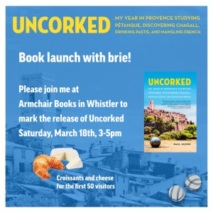 Uncorked book launch