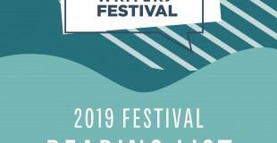 2019 Festival Reading List