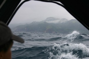 Kenyon at sea