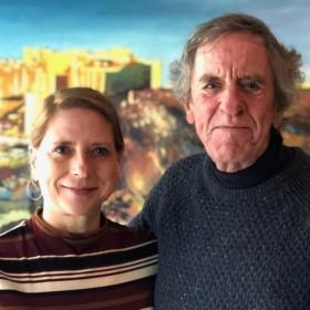 Shelley A. Leedahl and Peter Carver, Toronto, 2019